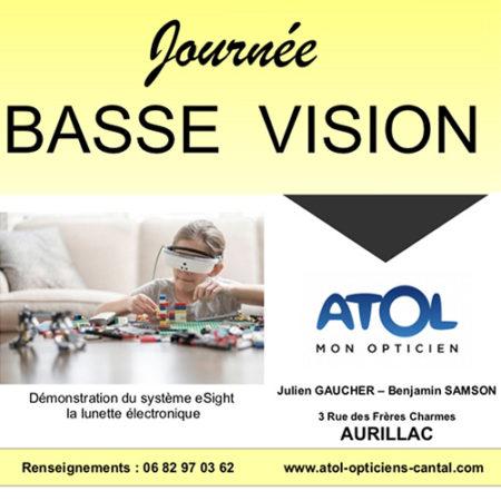 Journée Basse Vision Atol